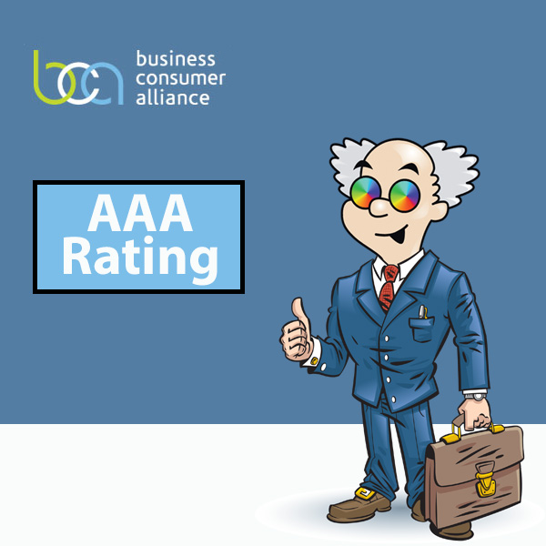 ColorFX rated AAA by Business Consumer Alliance