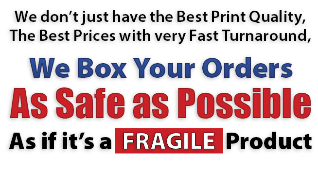 We Box Your Orders As Safe as Possible