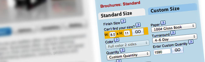 Fully Customizable Ordering