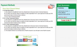 Choose Payment Options