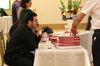 The Immortals Book Signing Event