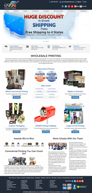 colorfx-print-company-website