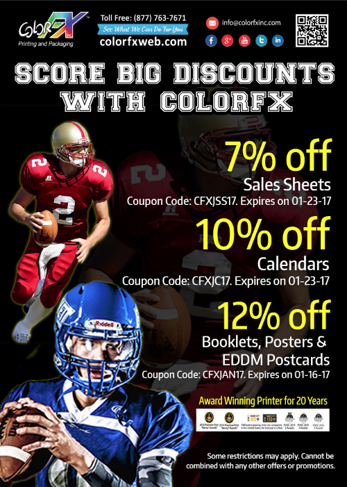 Big Discounts at Colorfxweb.com