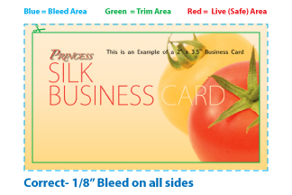 Bleed Safe Area - Bleed